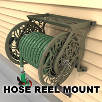 Hose reel wall mount 01