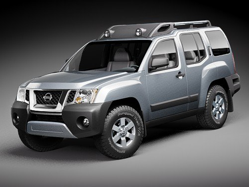 3d nissan xterra 2009 suv model. Black Bedroom Furniture Sets. Home Design Ideas