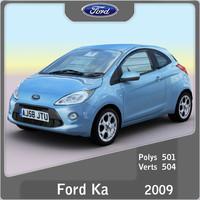 3d model 2009 ka