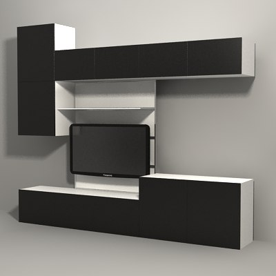 3dsmax ikea besta ikea besta by milosjakubec besta cd regal ikea. Black Bedroom Furniture Sets. Home Design Ideas