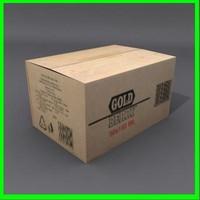 dxf cardboard box