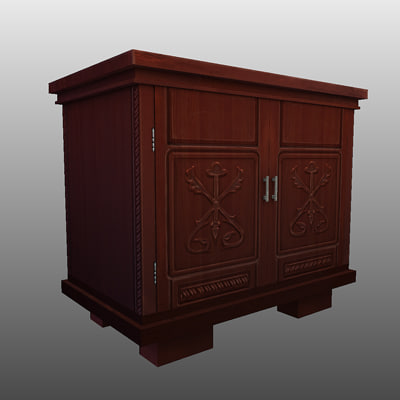 Free sideboard 3d model for Sideboard 3d