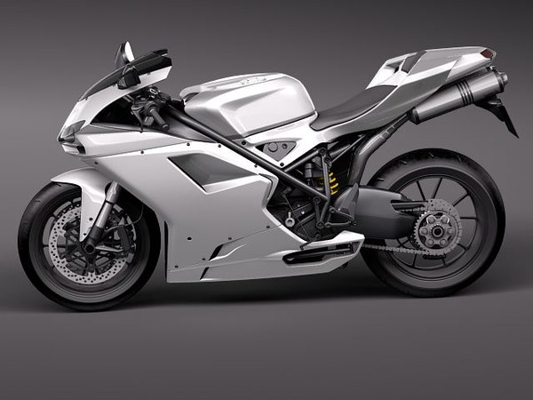 3ds ducati 1198 2010 - ducati 1198 2010... by squir