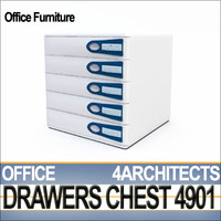 3ds office drawers chest 4901