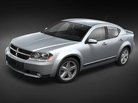 3ds dodge avenger 2008