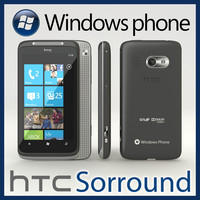 HTC Sorround Windows Phone 7 Cellphone
