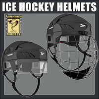 Ice Hockey Helmets - Standard and Goalkeeper