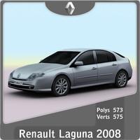 2008 renault laguna 3d model