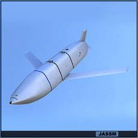 jassm missile weapon c4d
