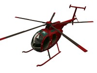 3d product helicopter model