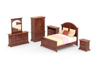 Bedroom Set - 01 - CANYON CREEK