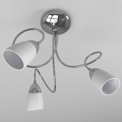 3 ceiling light 3d model