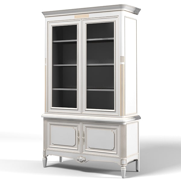 classic country bookcase cupboard sideboard.jpg
