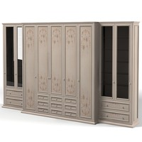 3ds max classic dresser armoire