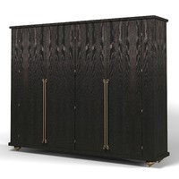 ego dresser bedroom armoire storage wardrobe cabinet  art deco modern contemporary