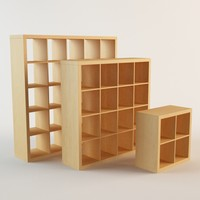 Ikea Expedit book case 2x2 4x4 5x5