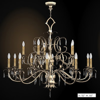fine art chandelier pastiche forged big classic 427940
