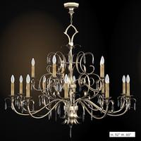 3d model fine art chandelier