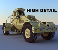 Husky mine detection vehicle