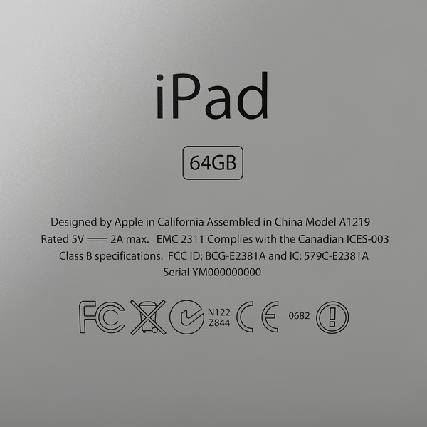 apple ipad 3g 3ds - Apple iPad 3G... by Studio 3D Plus