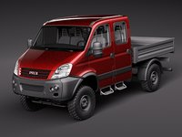 maya iveco daily 4x4 truck