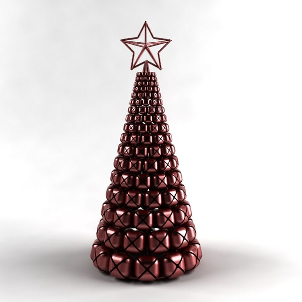 jingle bells christmas tree 3d model - Jingle Bells Tree... by BiernisJC