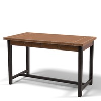 Promemoria Ernest modern contemporary desk work office leather table