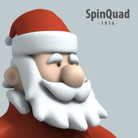 Funny Santa - XSI SOFTIMAGE RIGGED