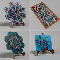 Handmade Ceramic Tile Pack