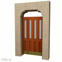 3d model swing doors