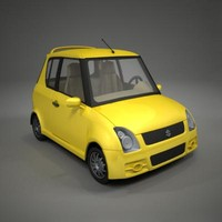 3d model suzuki swift toon