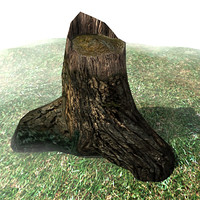 wood stump max