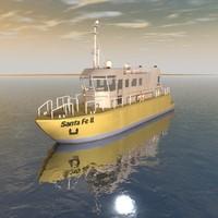 3dsmax pilots boat