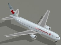 B 767-300 ER Air Canada new colors