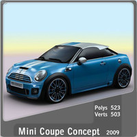 maya 2009 mini coupe concept