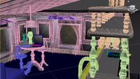 bar room 3d model