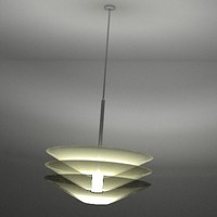 3d light ceiling model