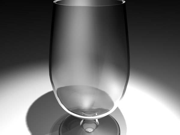 3d model of glass water - Glass... by dhaivatfilms
