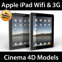 apple ipad 3g wifi c4d
