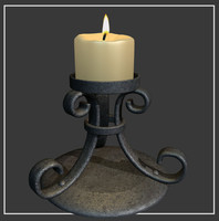 max medievil candle holder