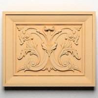 3d model ornamental element wall