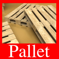 Photorealistc Pallet and High Resolution Texture