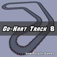 3d go-kart track