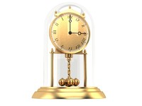 3d model clock old classic