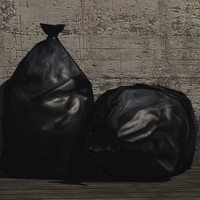 rubbish bag prop 3d model