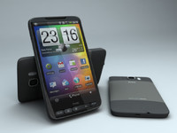 photorealistic htc hd2 3d model