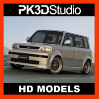 3d model scion xb - custom
