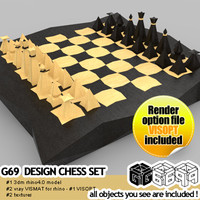 G69 Design CHESS SET