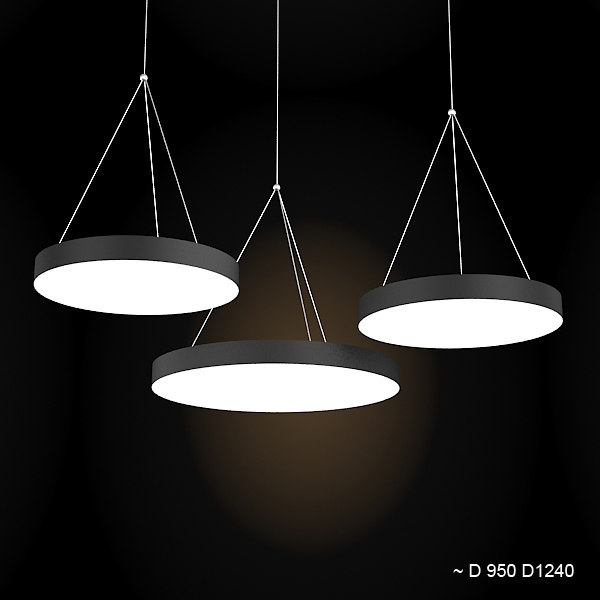 Wever Ducre big xenon pendant chandelier lamp ceiling  hanging modern round contemporary