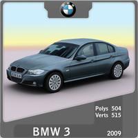 2009 bmw 3 sedan 3ds
